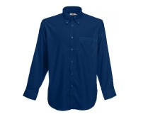 Fruit Of The Loom Long Sleeve Oxford Shirt Košulja Dugih Rukava Teget 65-114-32