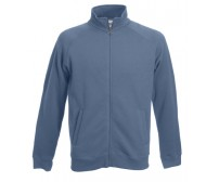 Fruit Of The Loom Sweat Jacket Duks Sa Džepovima Steel Blue 62-228-80