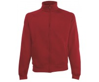 Fruit Of The Loom Sweat Jacket Duks Sa Džepovima Brick Red 62-228-BX